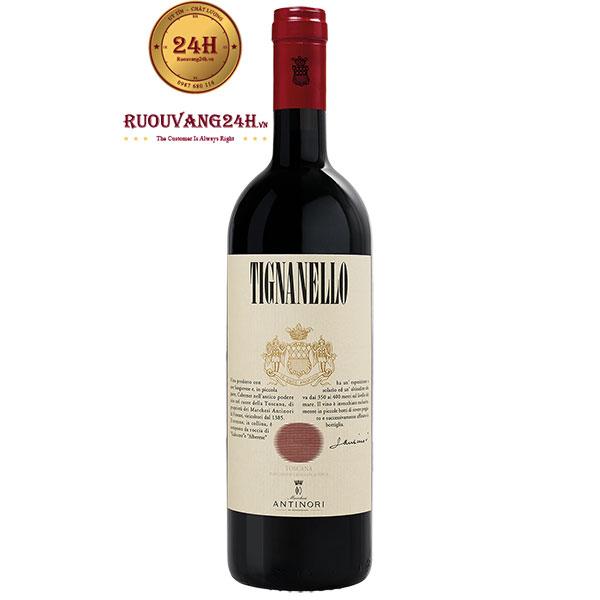 Rượu Vang Tignanello Antinori Toscana IGT