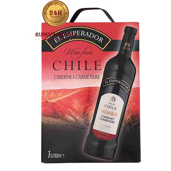 Rượu Vang Bịch Chile El Emperador Cabernet