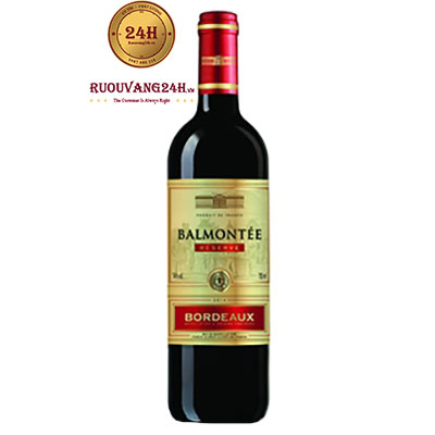 Rượu vang Bamontee Bordeaux Red
