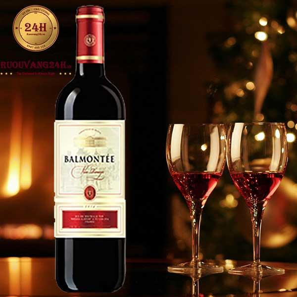 Rượu vang Bamontee VCE Red