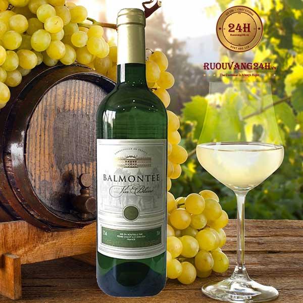 Rượu vang Bamontee VCE White
