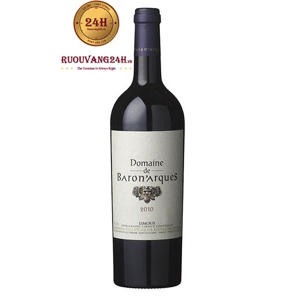 Rượu Vang Domaine De Baron Arques Limoux
