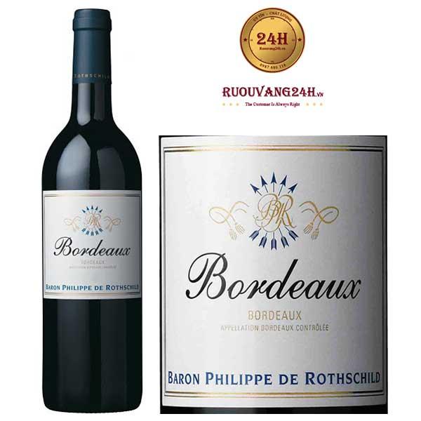Rượu vang Baron Philippe de Rothschild Bordeaux Red