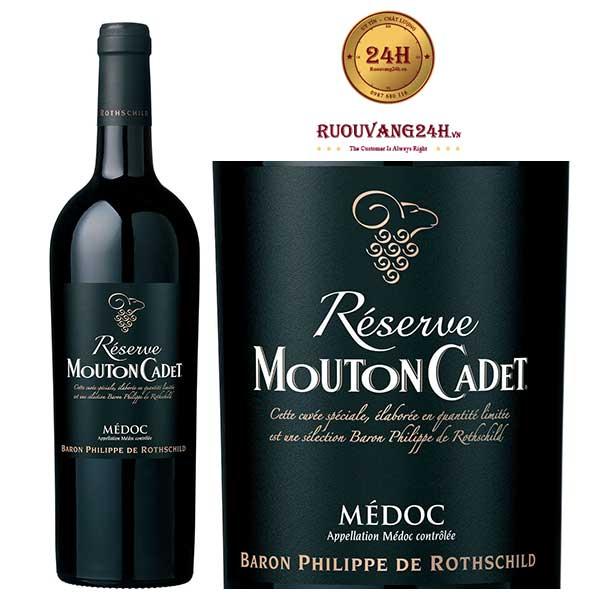 Rượu Vang Mouton Cadet Reserve Medoc
