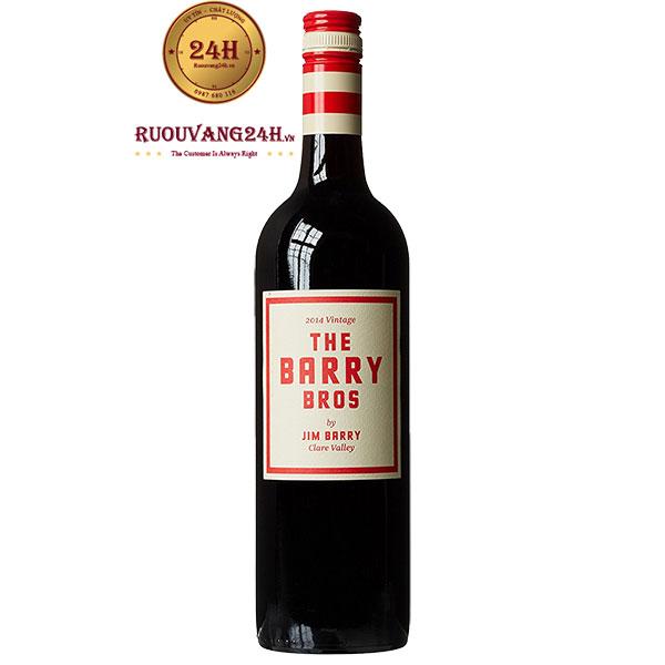 Rượu Vang The Barry Bros Shiraz Cabernet Sauvignon