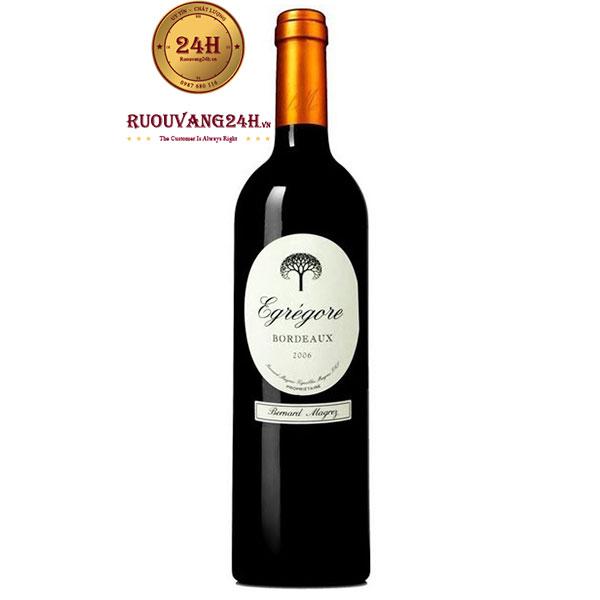 Rượu vang Bernard Magrez Egregore Bordeaux