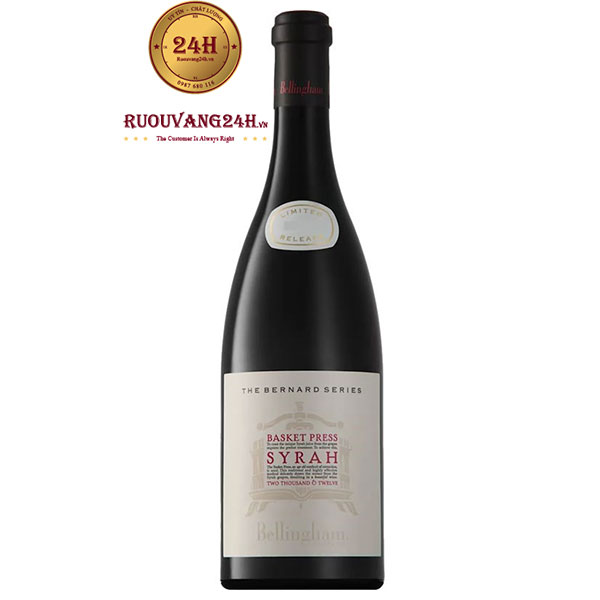 Rượu Vang Bernard Series Basket Press Syrah