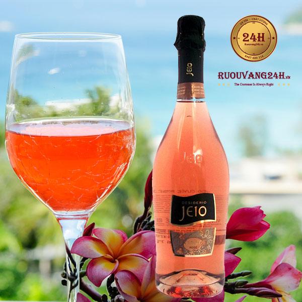Rượu vang Bisol Jeio Cuvee Rosé Brut Merlot - Pinot Nero