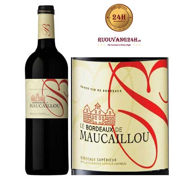 Rượu Vang Bordeaux De Maucaillou