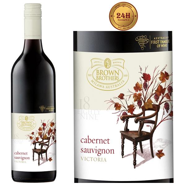 Rượu vang Brown Brothers 18 Eighty Nine Cabernet Sauvignon