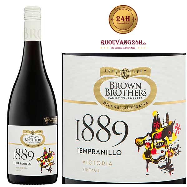 Rượu vang Brown Brothers 18 Eighty Nine Tempranillo