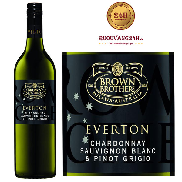 Rượu vang Brown Brothers Everton Chardonnay - Sauvignon Blanc - Pinot Grigio