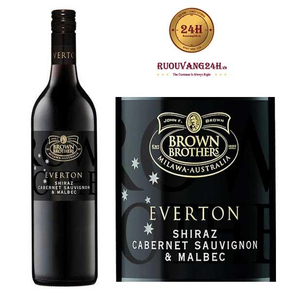 Rượu vang Brown Brothers Everton Shiraz – Cabernet Sauvignon – Malbec