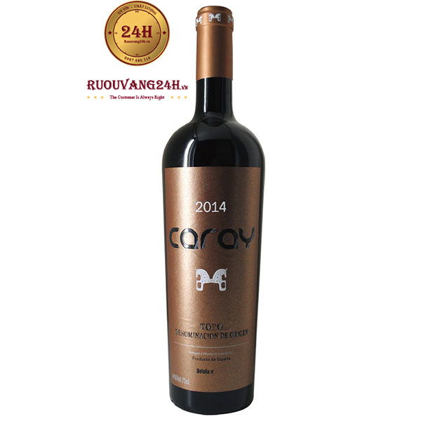 Rượu vang Caray Tinta de Toro 14 tháng