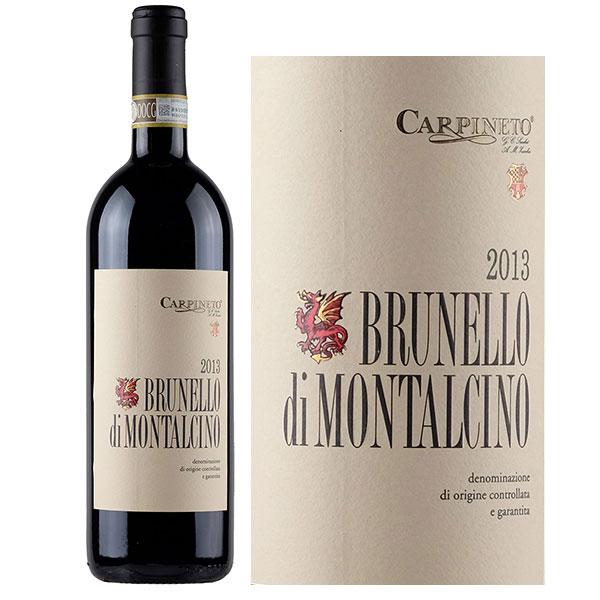 Rượu vang Carpineto Brunello di Montalcino Sangiovese Grosso