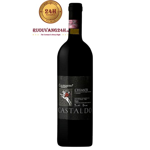 Rượu vang Carpineto Chianti Castaldo Sangiovese – Canaiolo