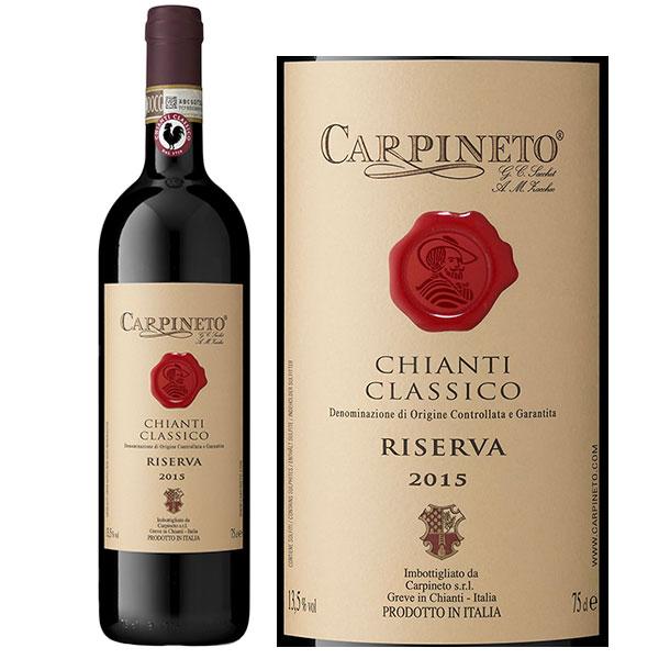 Rượu vang Carpineto Chianti Classico Riserva Sangiovese – Canaiolo