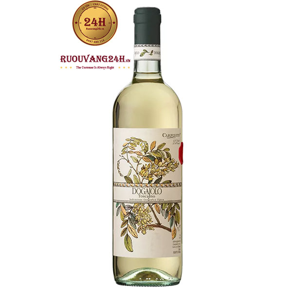 Rượu vang Carpineto Dogajolo Chardonnay – Grechetto