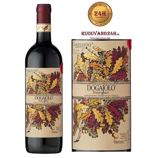 Rượu vang Carpineto Dogajolo Sangiovese - Cabernet Sauvignon