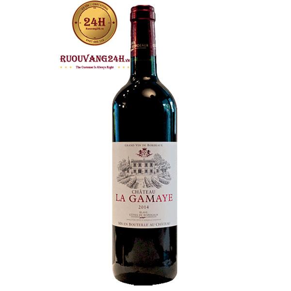Rượu vang Château La Gamaye Côtes de Blaye
