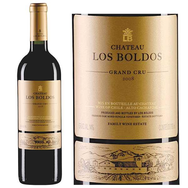Rượu vang Château Los Boldos Grand Cru