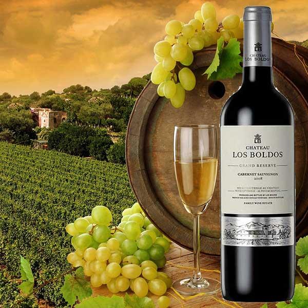 Rượu vang Château Los Boldos Grande Reserve Cabernet Sauvignon