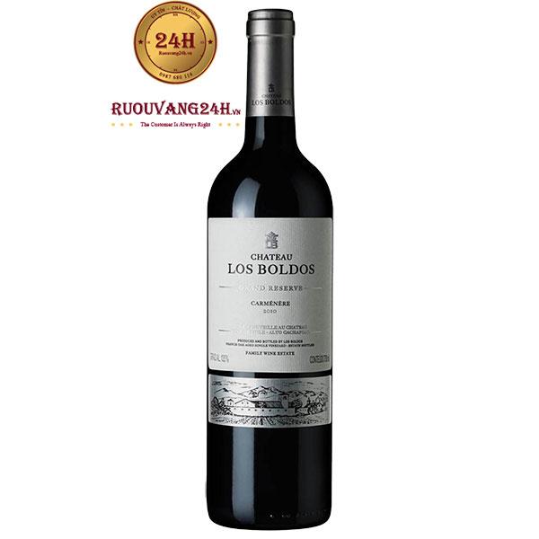 Rượu vang Château Los Boldos Grande Reserve Carmenere