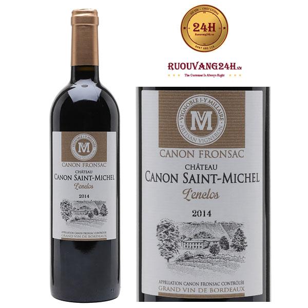 Rượu vang Chateau Canon Saint Michel Canon Fronsac