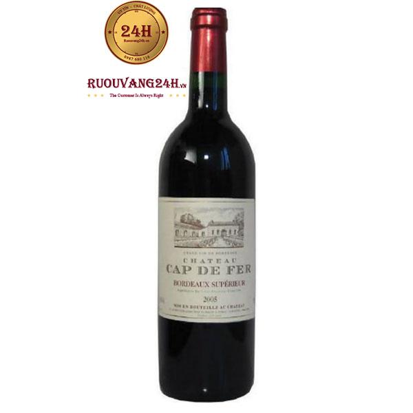 Rượu vang Chateau Cap de Fer Bordeaux Superieur
