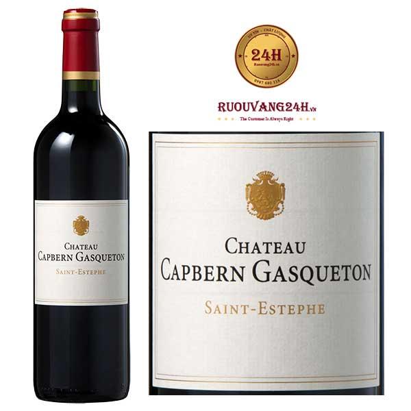 Rượu vang Chateau Capbern Gasqueton St Estephe