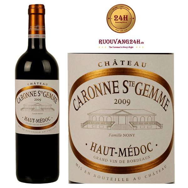 Rượu vang Chateau Caronne Ste Gemme Haut-Medoc