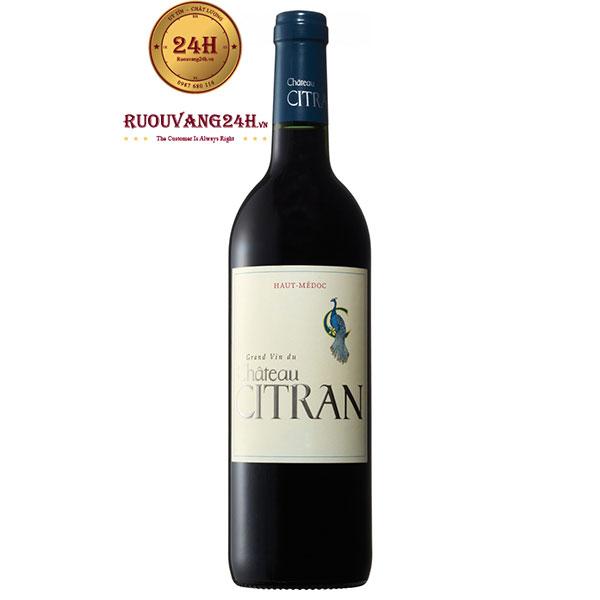 Rượu Vang Pháp Chateau Citran
