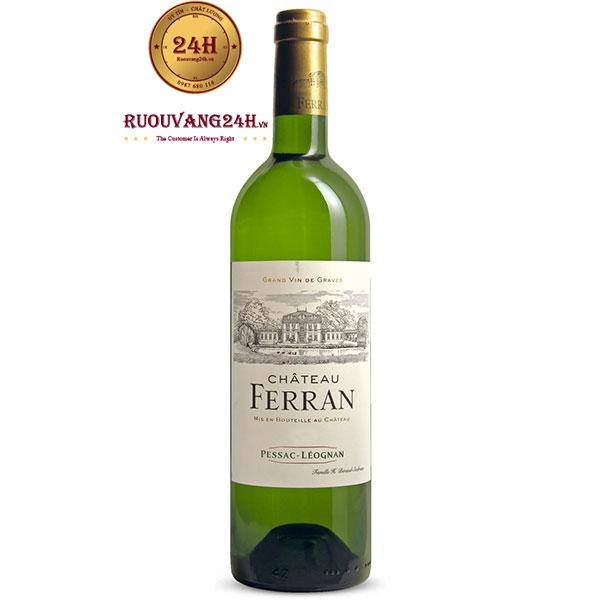 Rượu vang Chateau Ferran White