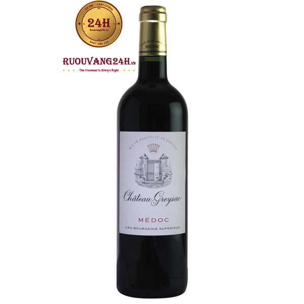 Rượu vang Chateau Greysac Medoc Cru Bourgeois