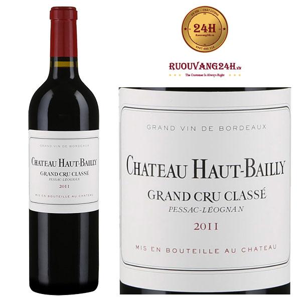 Rượu vang Chateau Haut-Bailly Grand Cru Classe Graves