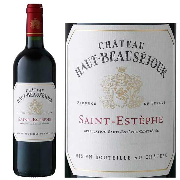Rượu vang Chateau Haut - Beausejour Saint – Estephe