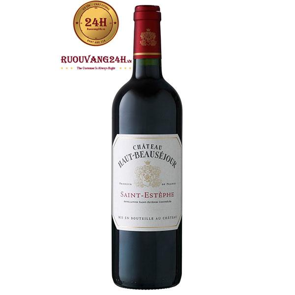 Rượu vang Chateau Haut – Beausejour Saint – Estephe