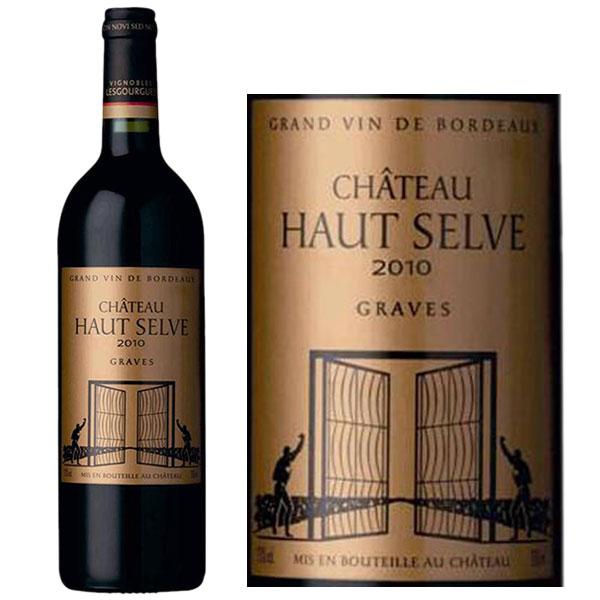 Rượu vang Chateau Haut Selve Graves