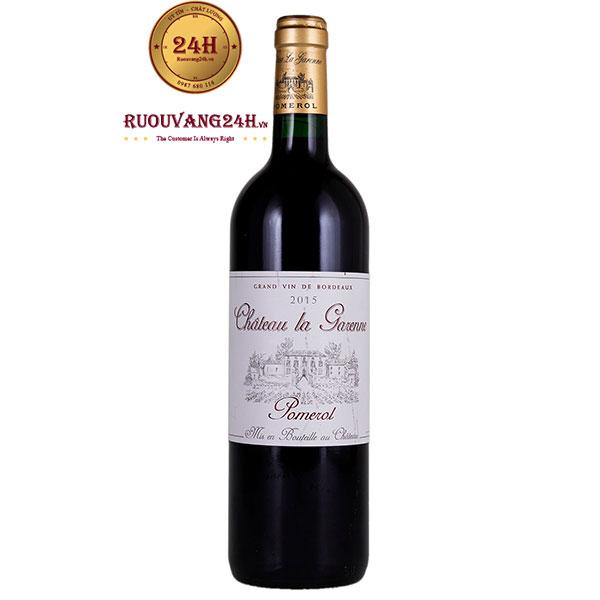 Rượu vang Chateau La Garenne Pomerol