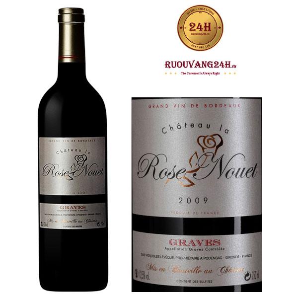 Rượu vang Chateau La Rose Nouet Graves