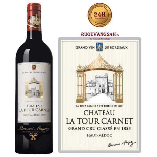 Rượu vang Chateau La Tour Carnet 4th Grand Cru Classe Margaux