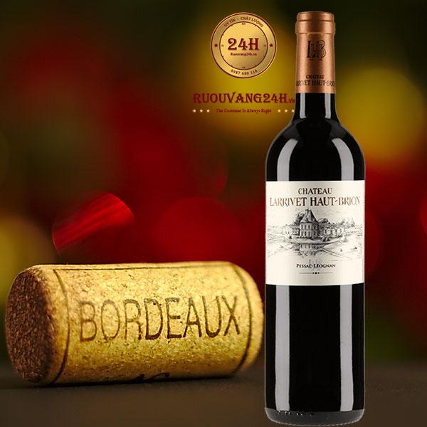 Rượu vang Chateau Larrivet Haut Brion