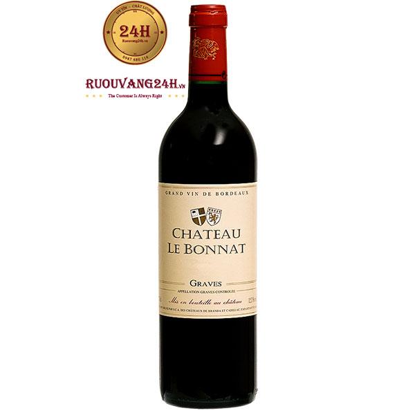 Rượu vang Chateau Le Bonnat red Graves