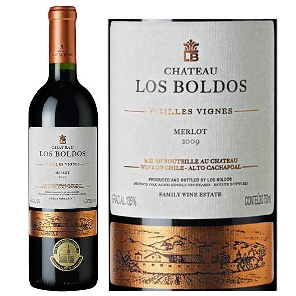 Rượu vang Chateau Los Boldos Merlot