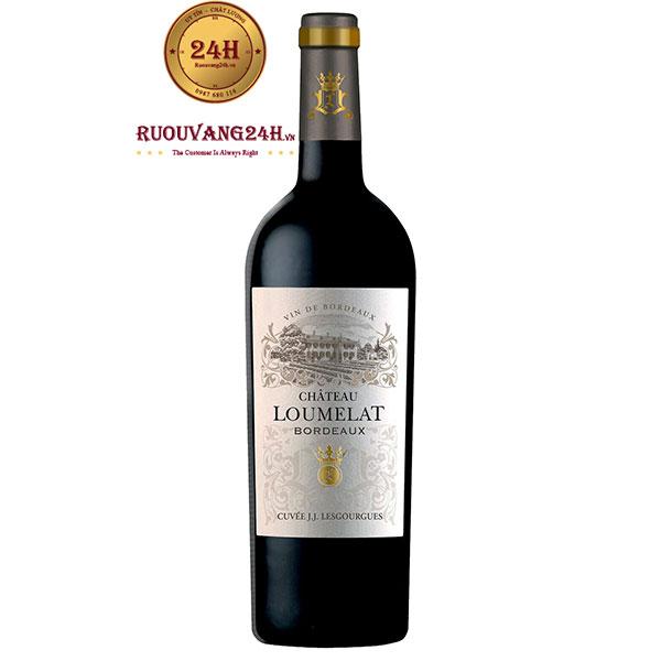 Rượu vang Chateau Loumelat red Bordeaux