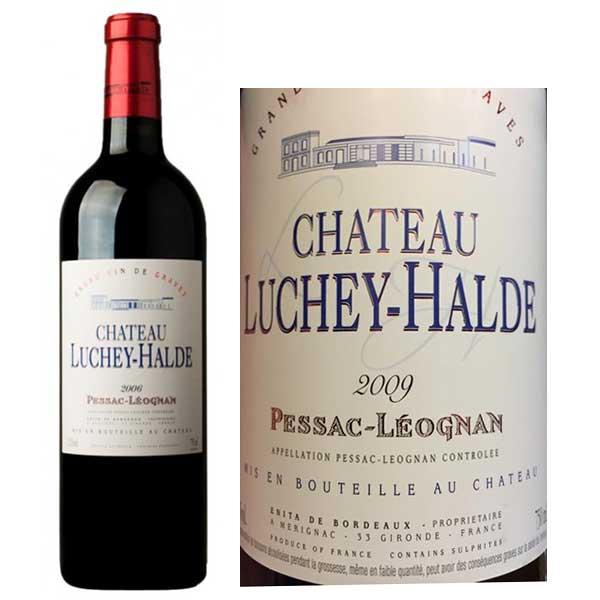 Rượu vang Chateau Luchey Halde Pessac-Leognan