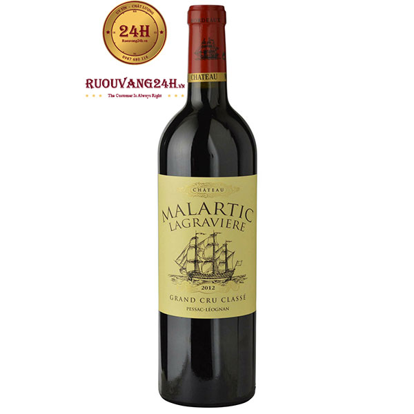 Rượu vang Chateau Malartic Lagraviere Crus Classe
