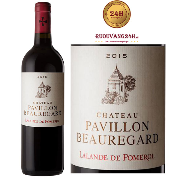 Rượu vang Chateau Pavillon de Beauregard Pomerol