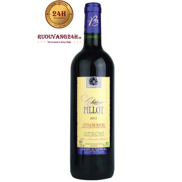Rượu vang Chateau Pillot Cotes de Bourg Organic
