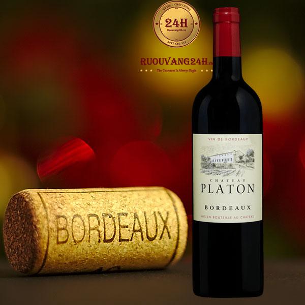 Rượu vang Chateau Platon Bordeaux